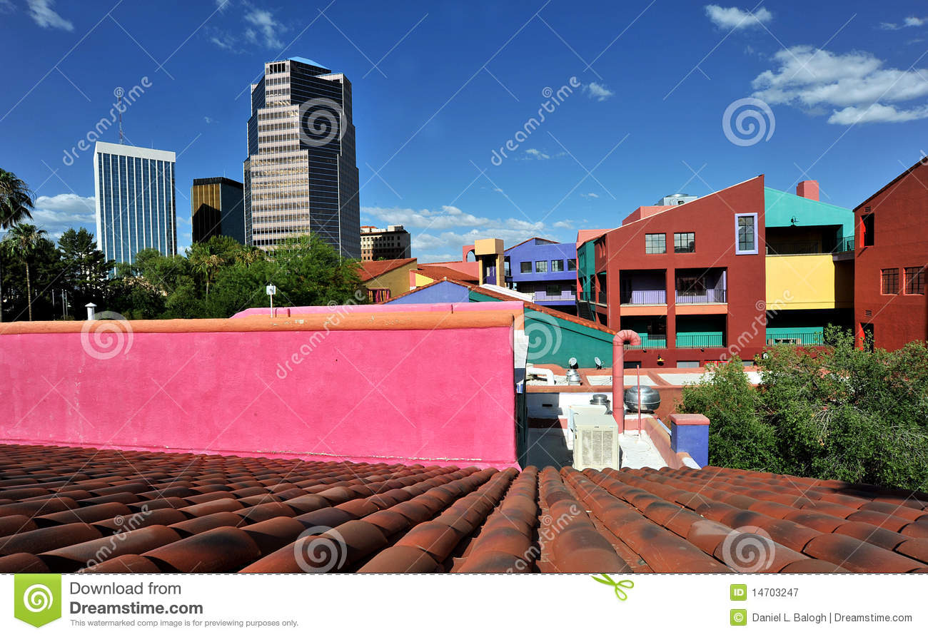 colorful houses royalty free stock photography image