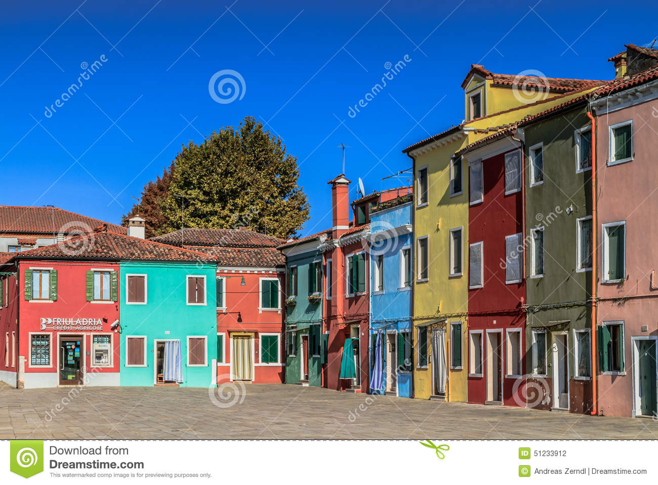 Colorful burano italy burano tourism - Colorful Houses Of Burano Editorial Photography