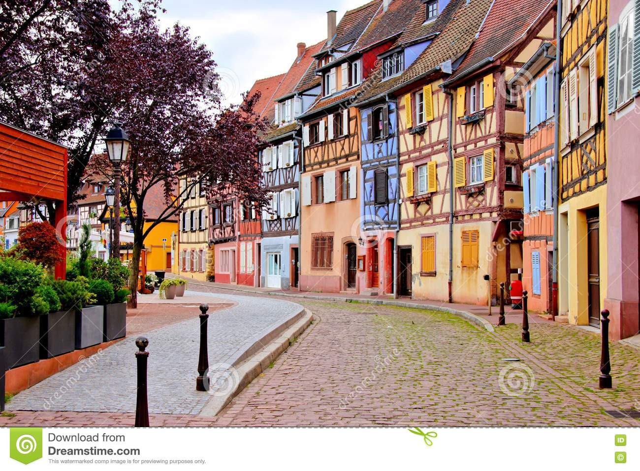 Colmar France Great Sunrise Over Colmar France Kolmar My