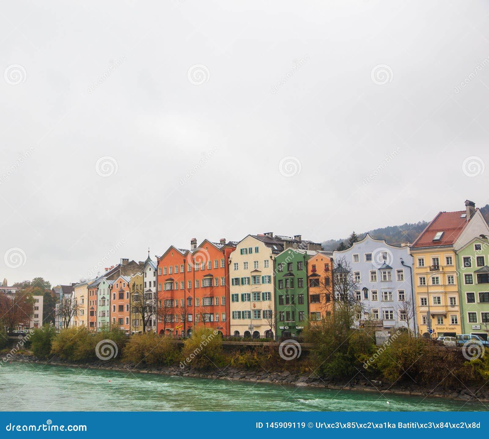 Colorful Houses Innsbruck