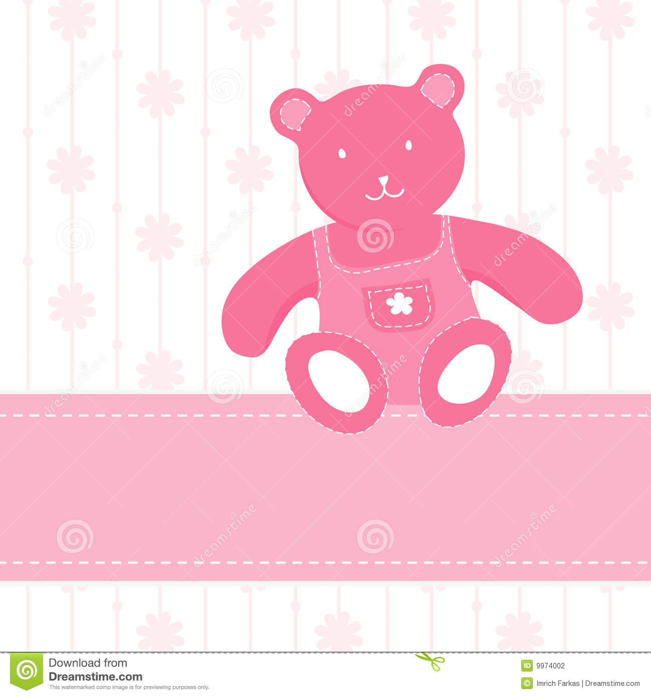 Colorful Illustration With Bear Stock Photography - Image ... - photo#19