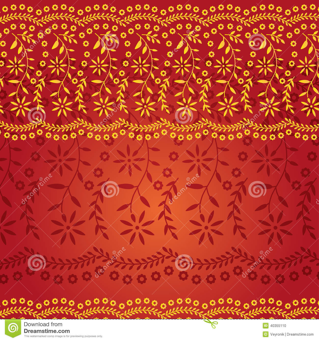 Colorful Indian Saree Background Stock Vector - Image ...