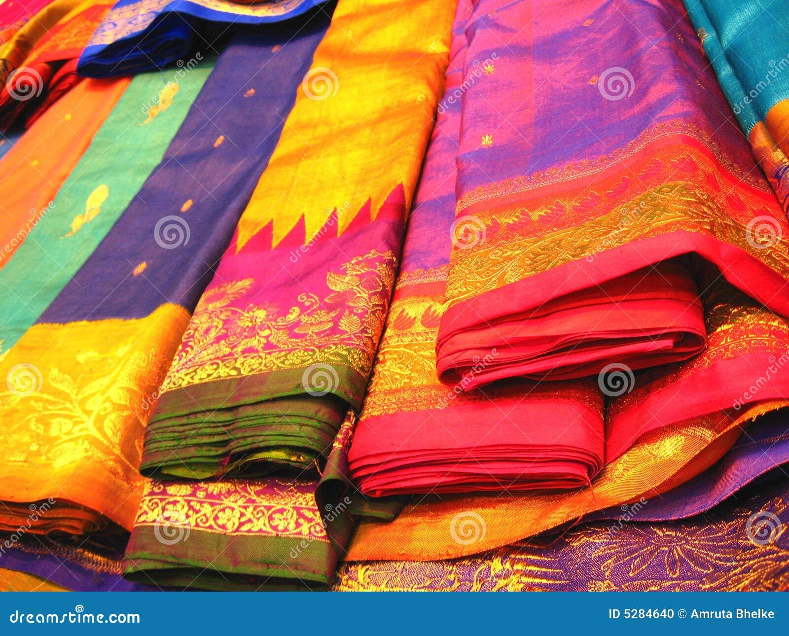 Colorful Indian Sarees