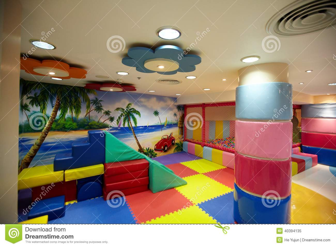 Colorful indoor playground stock image image of colorful for Children indoor