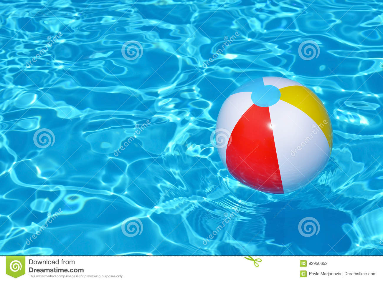 Swimming Pool Beach Ball Background Intended Floating Ball In Swimming Pool Royaltyfree Stock Photo Beach Background