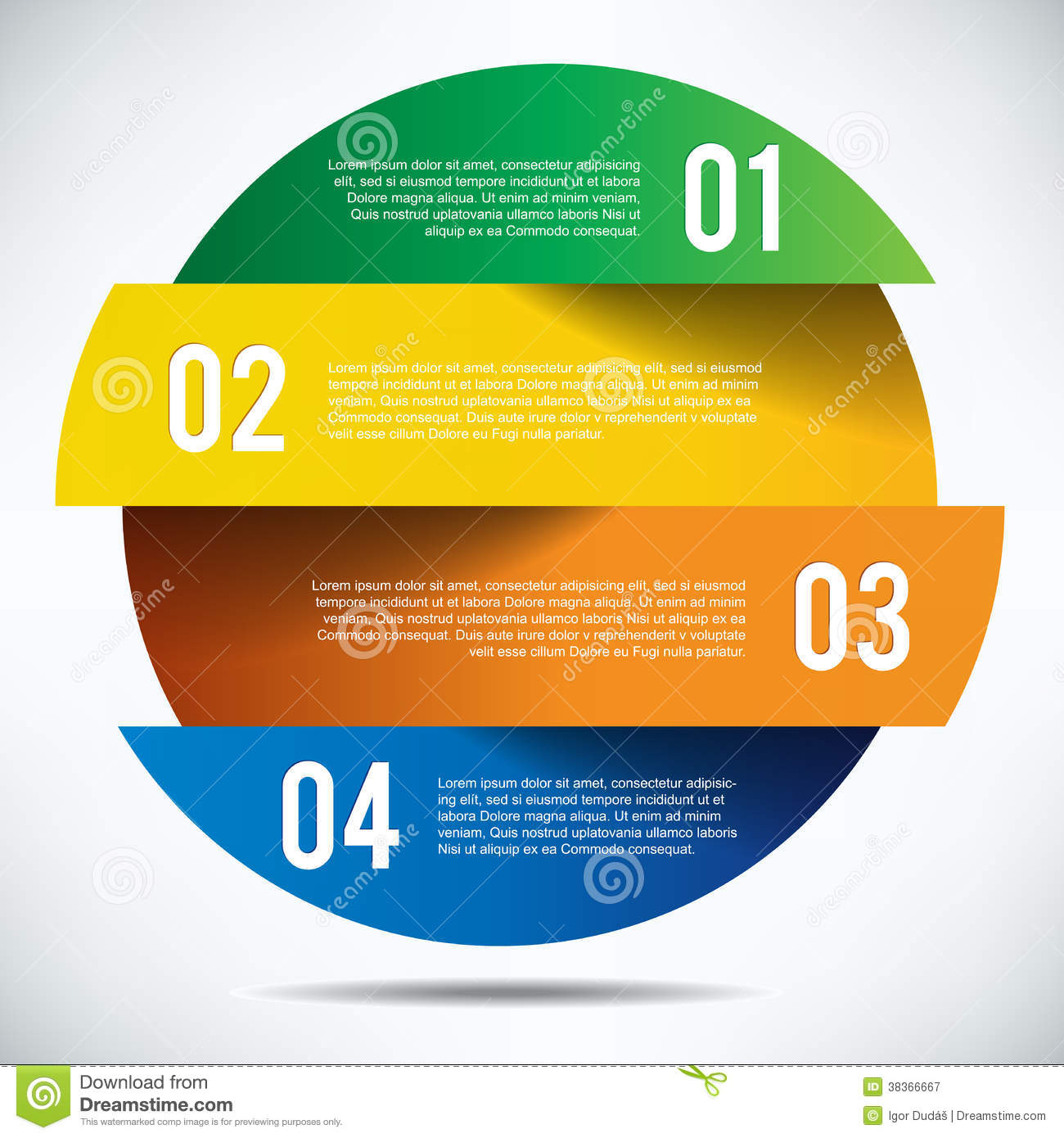 Colorful infographics banner design with text royalty free - Text banner design ...