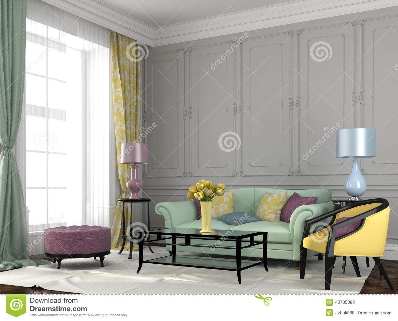interior colorful wallpaper right - photo #8