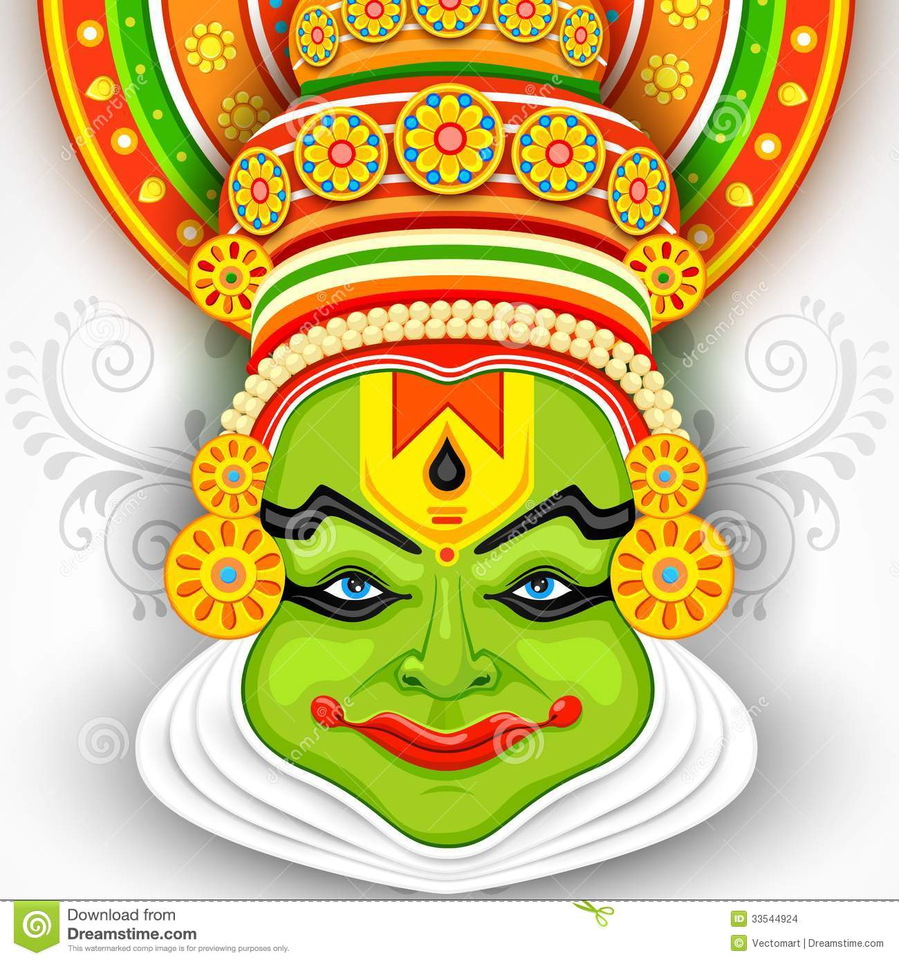 kathakali cartoons pictures illustrations - photo #25