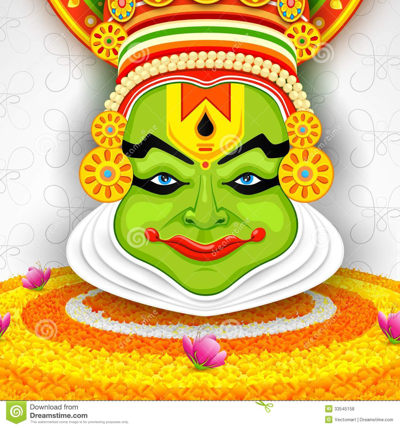 kathakali cartoons pictures illustrations - photo #49