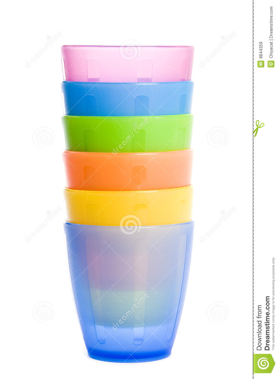 Colorful kids 39 plastic cups stock image image 8844359 - Cups and kids ...