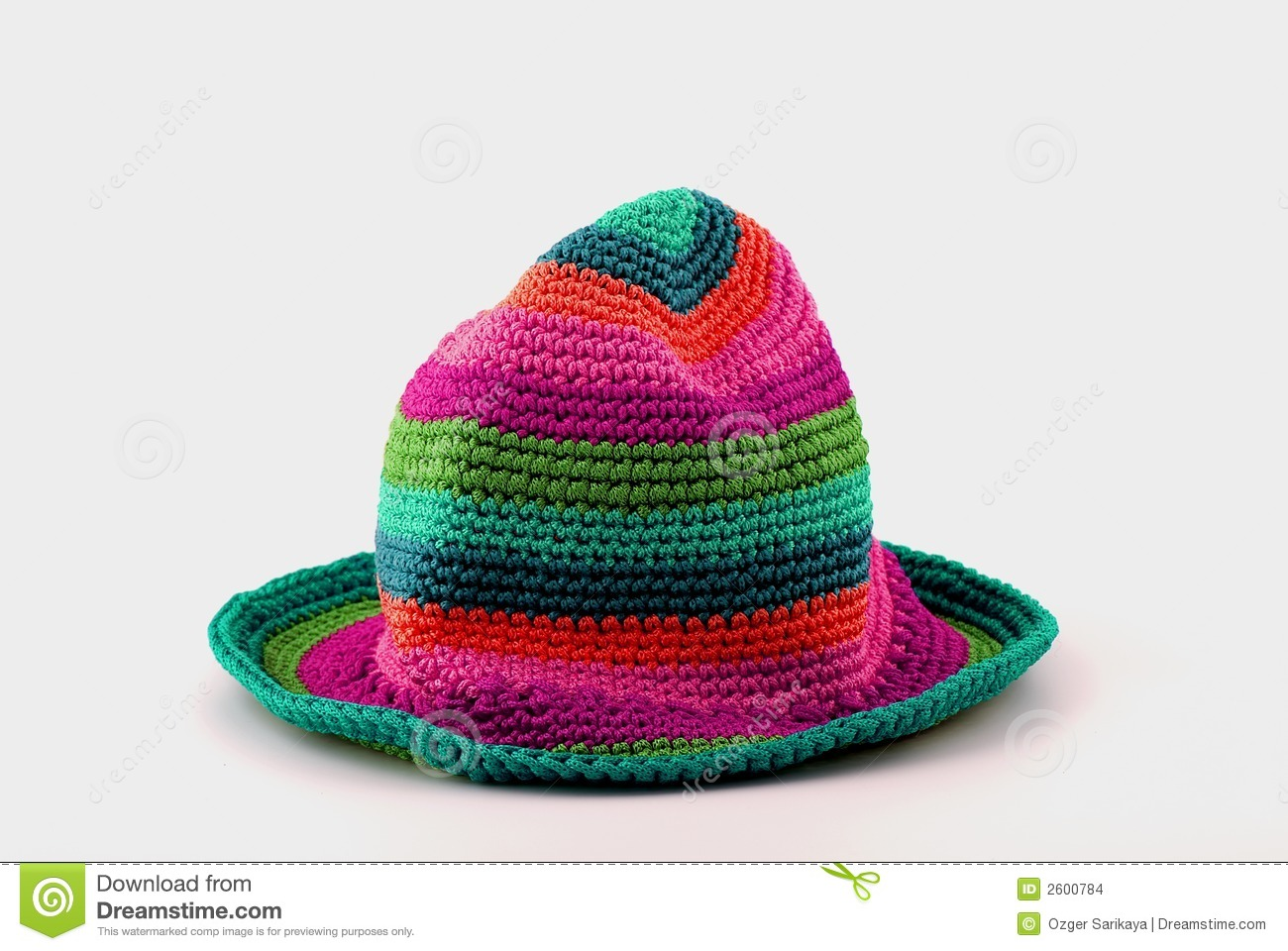 Colorful Knit Hat Stock Images - Image: 2600784