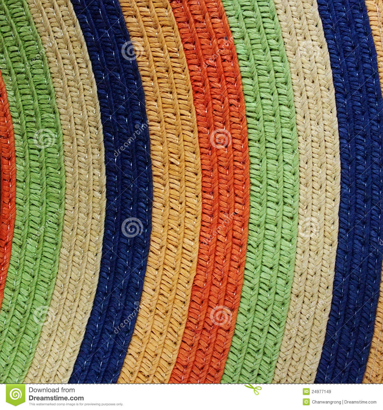 Colorful Knitting Pattern Royalty Free Stock Images - Image: 24977149