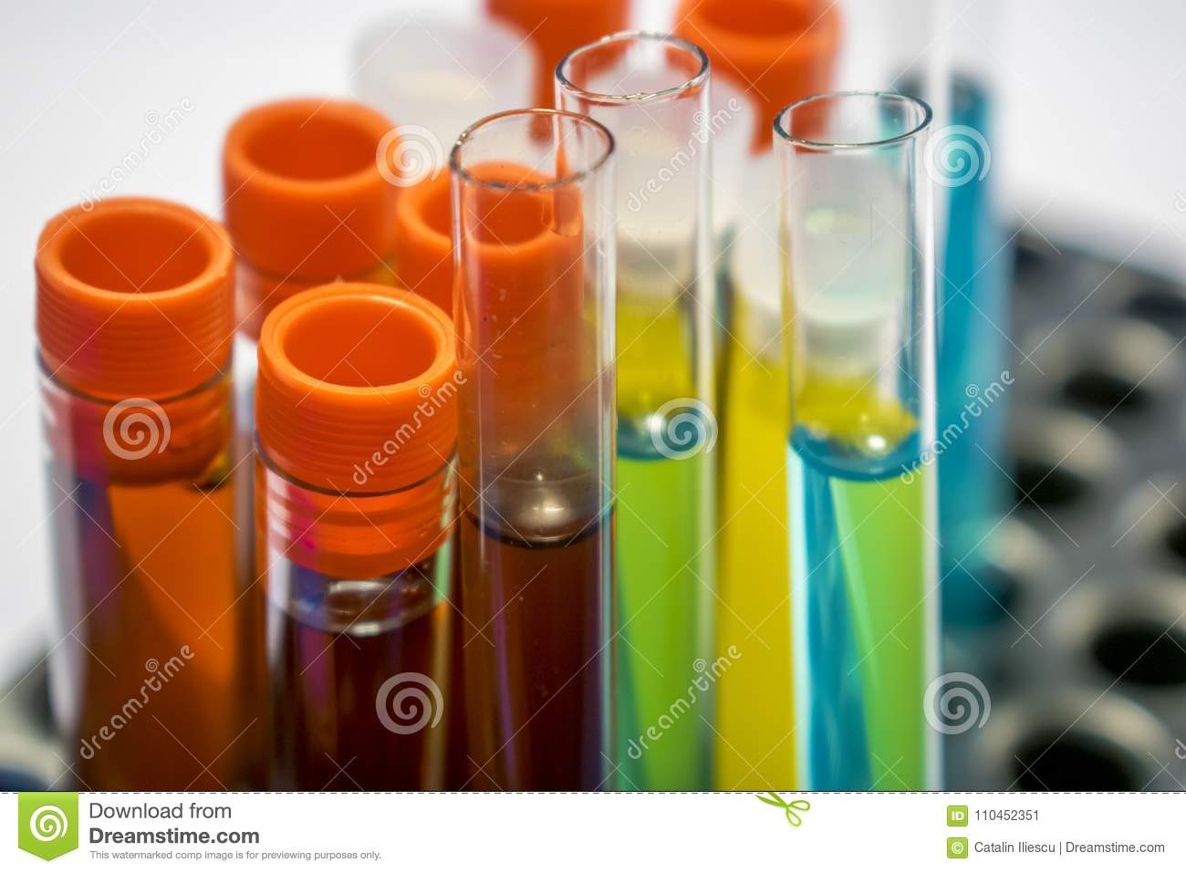 Blood And Urine Tests Developed To >> Colorful Laboratory Test Tubes Biochemistry Blood Tests Urine Test