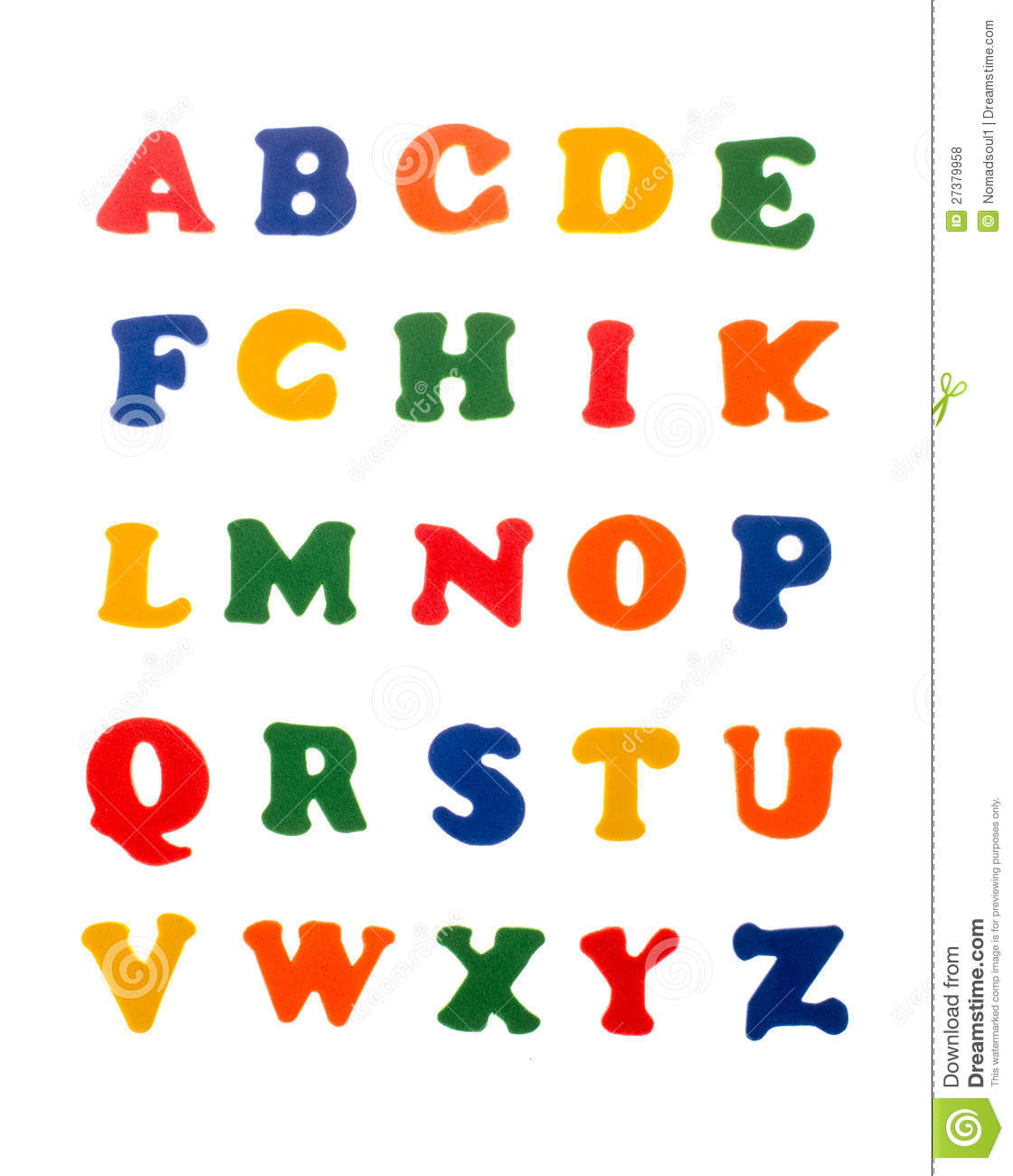 Colorful Letters Of Alphabet Royalty Free Stock Photos ... - photo#36