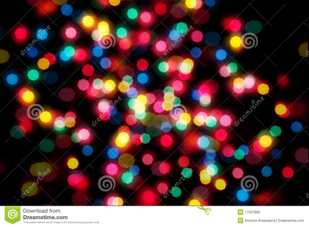 Colorful Lights Bokeh Royalty Free Stock Images Image