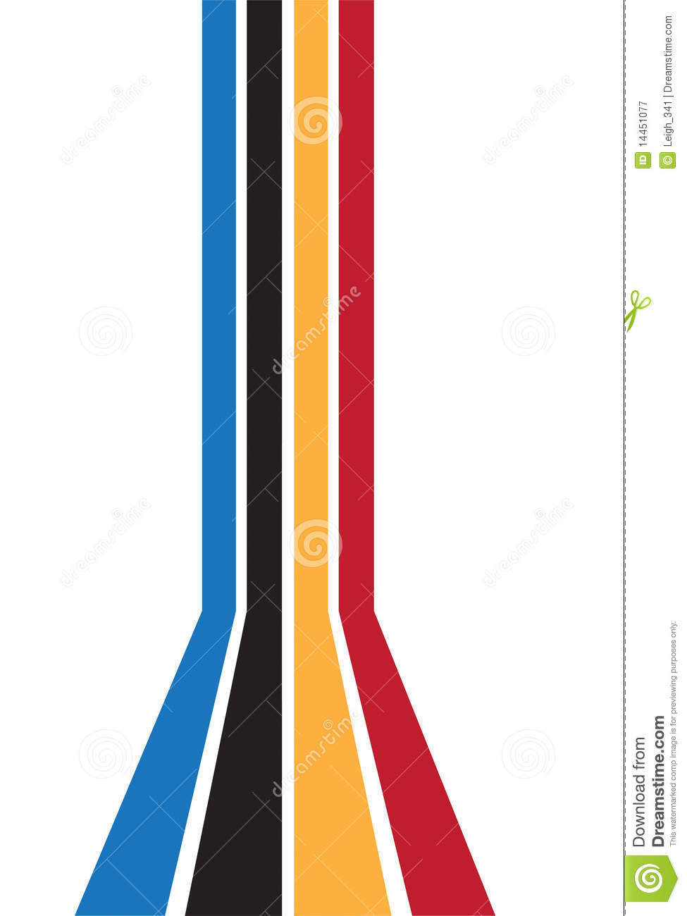 Colorful Line Border Royalty Free Stock Photography ...