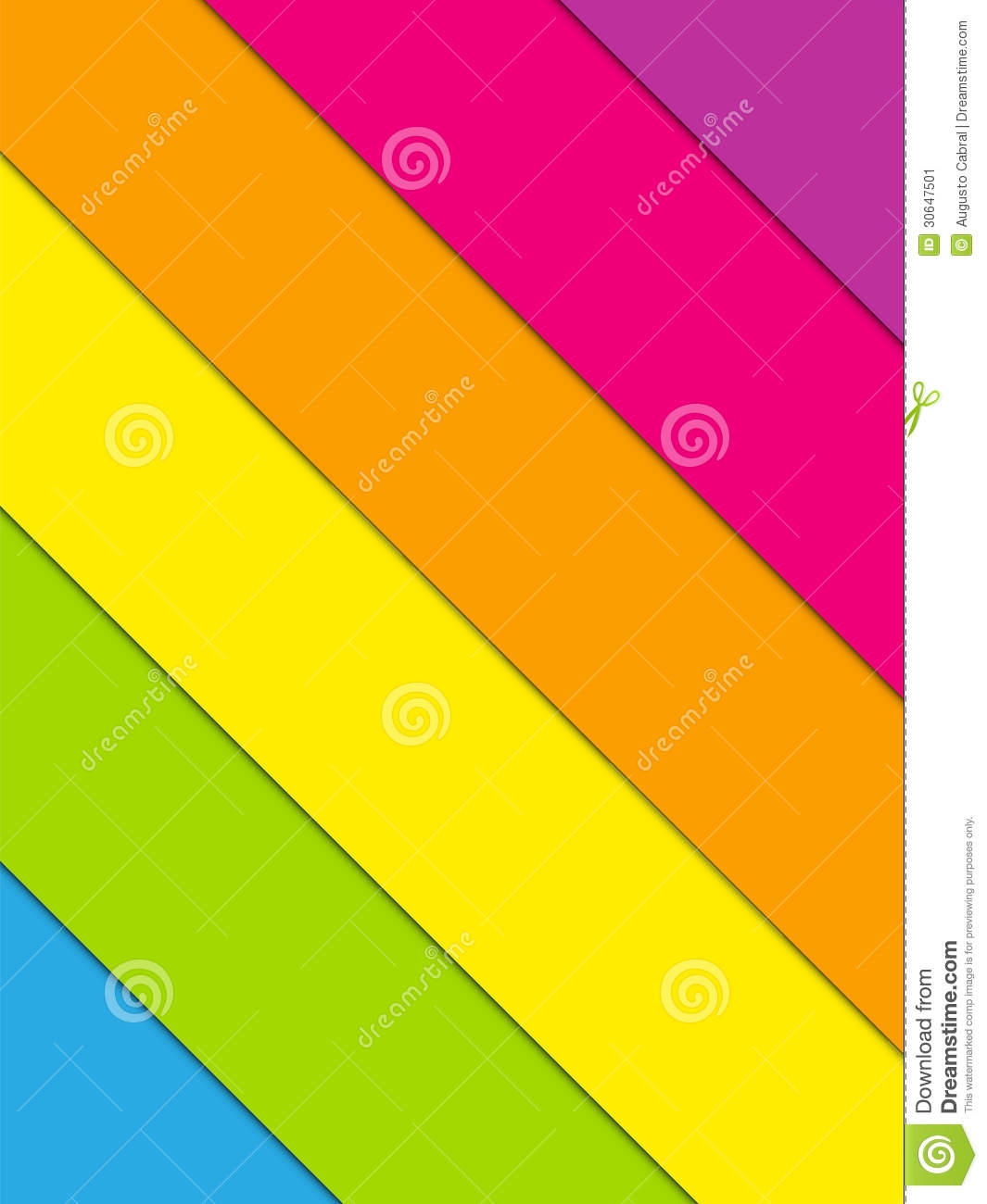 Colorful Lines Background Rainbow Stock Image - Image: 30647501