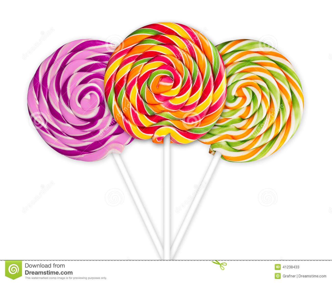 colorful lolly pops stock image image of snack  dessert 41238433 Lollipop Clip Art sucker clipart black and white