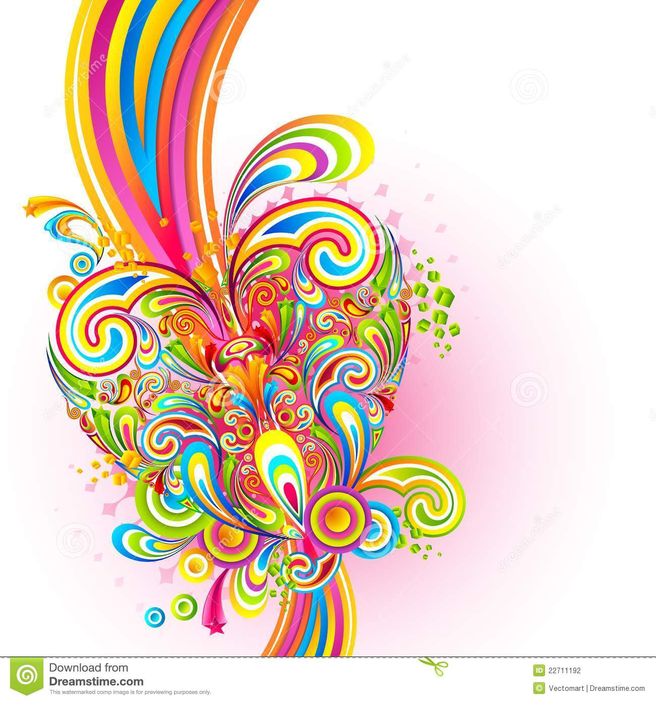 Colorful Love Background Stock Photography - Image: 22711192