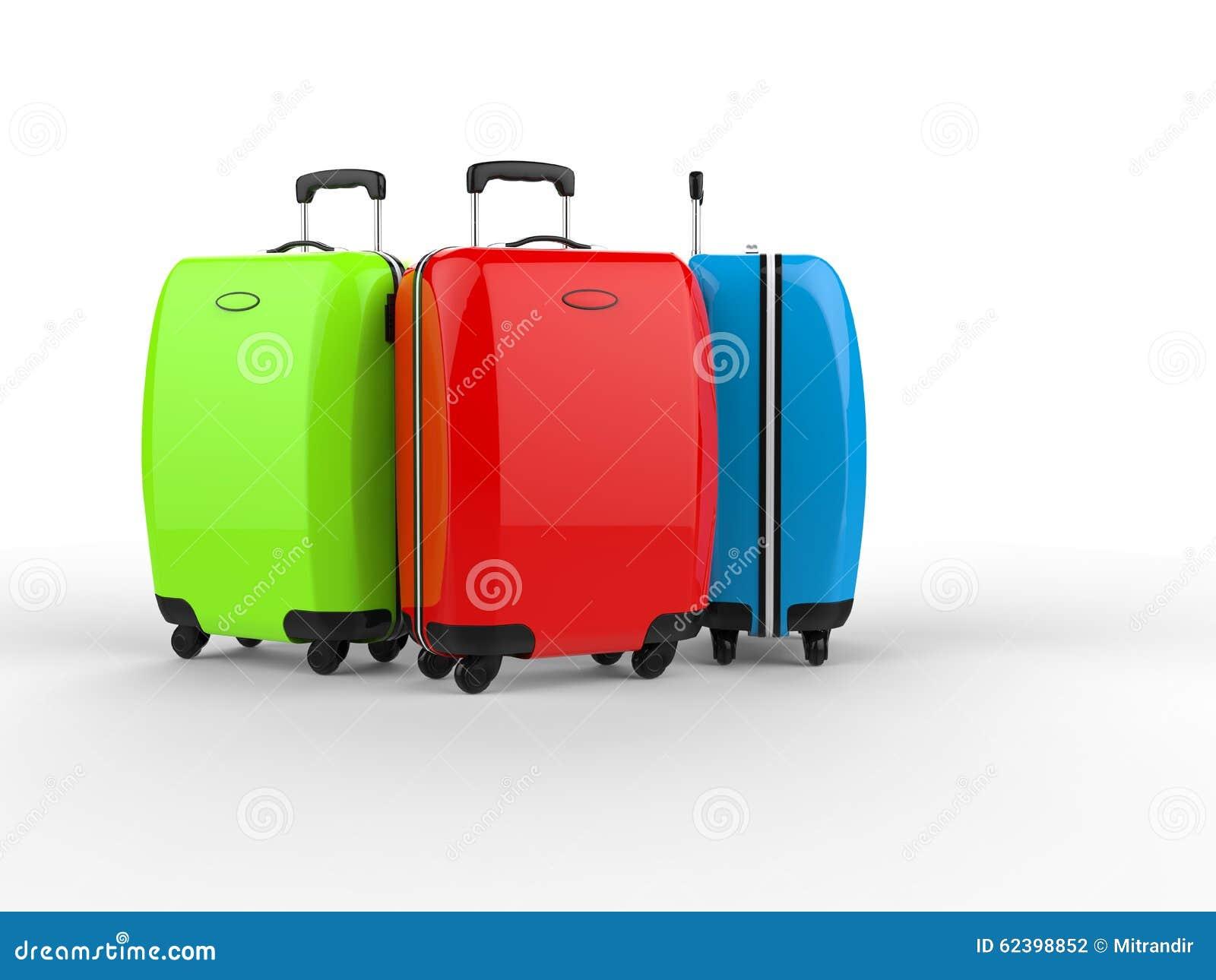 colorful suitcases stock image cartoondealer com 31176547 Travel Suitcase Clip Art stacked suitcase clipart