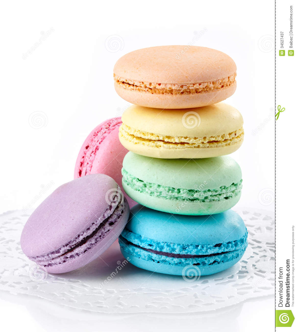 Colorful Macaroons Royalty Free Stock Photography Image