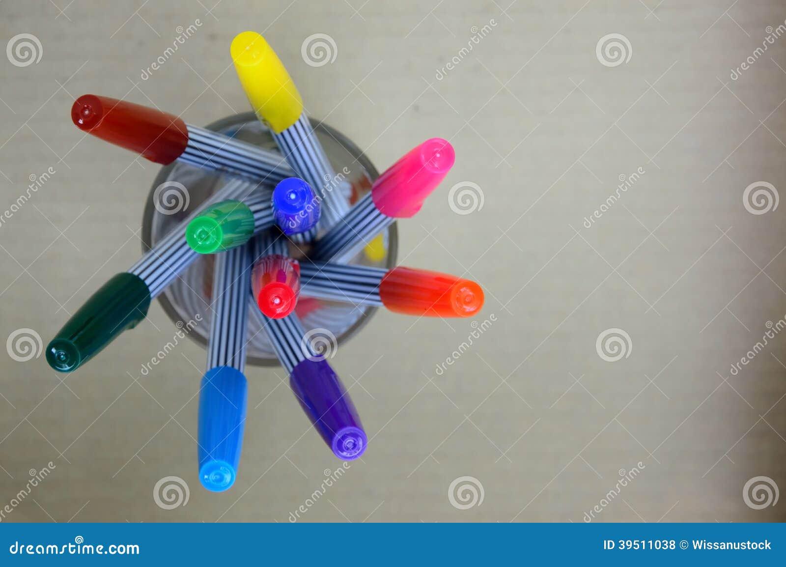 Colorful magic pens