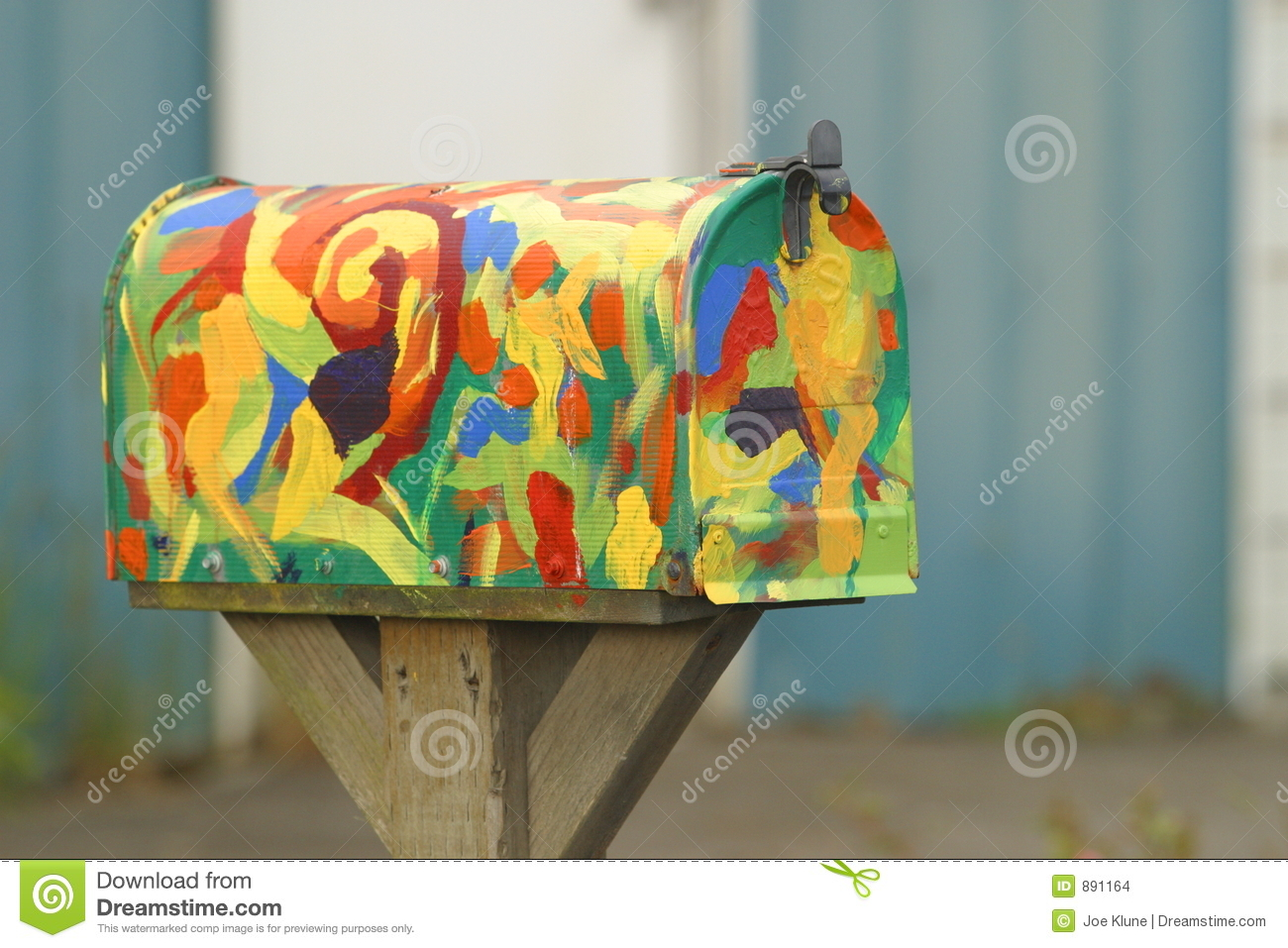 Colorful Mailbox Stock Images - Image: 891164