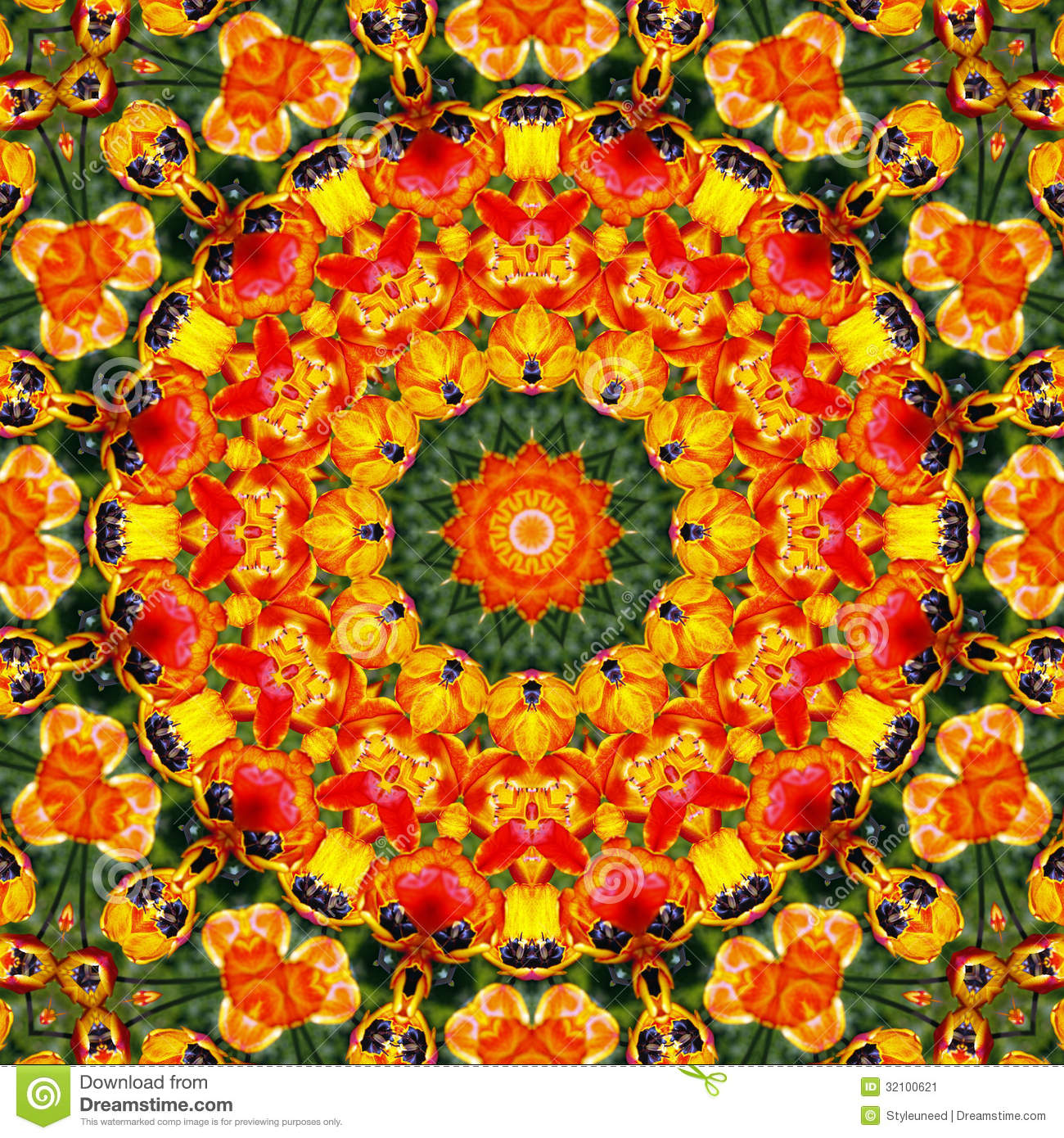 Colorful mandala stock image. Image of lines, illustration ... | 1300 x 1390 jpeg 490kB