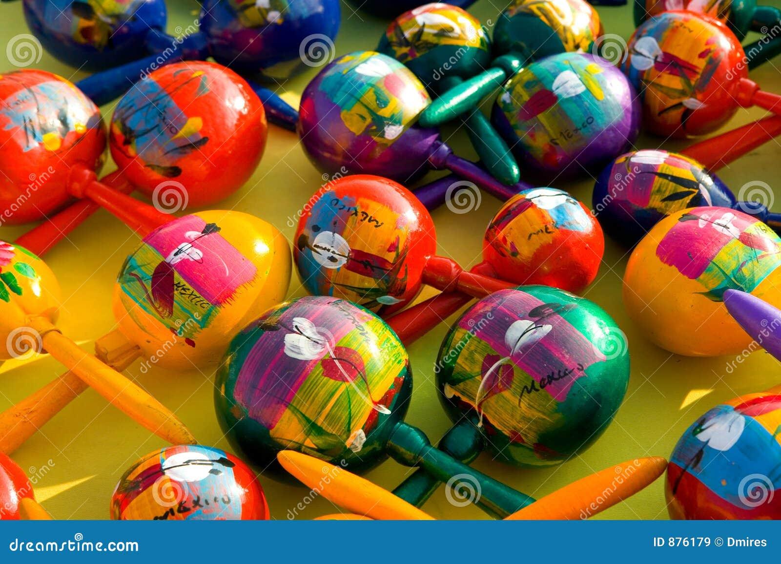 colorful maracas stock image image of display musical 876179