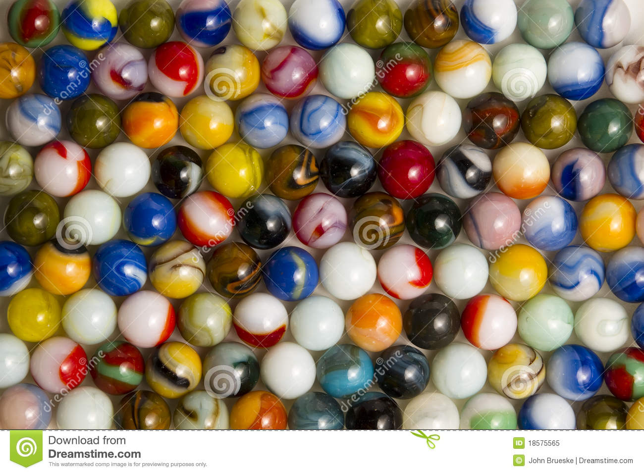 Colorful Marbles Stock Image Image Of Collection