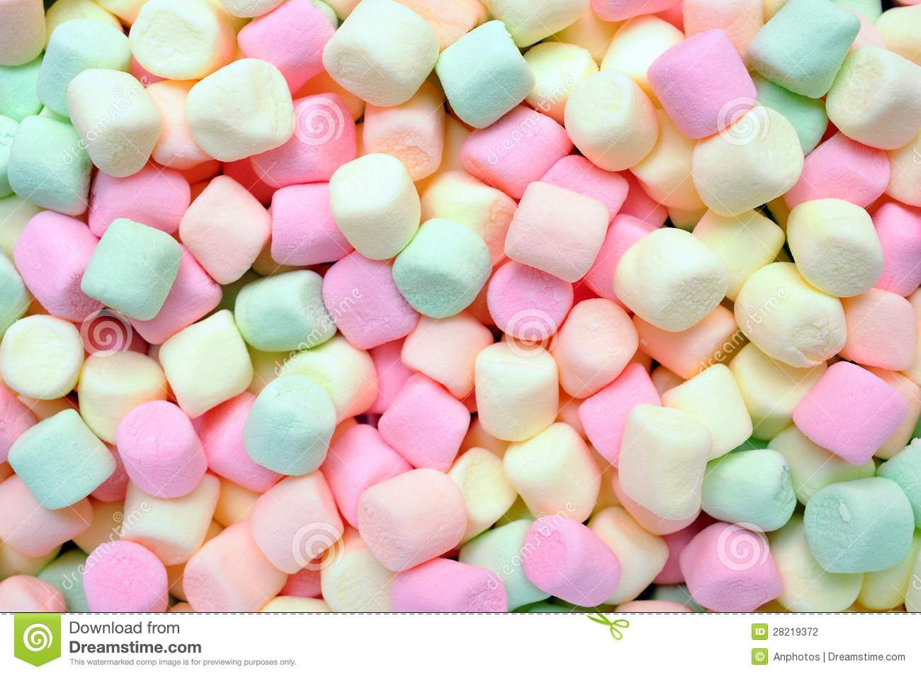 Colorful Marshmallows Stock Photography - Image: 28219372