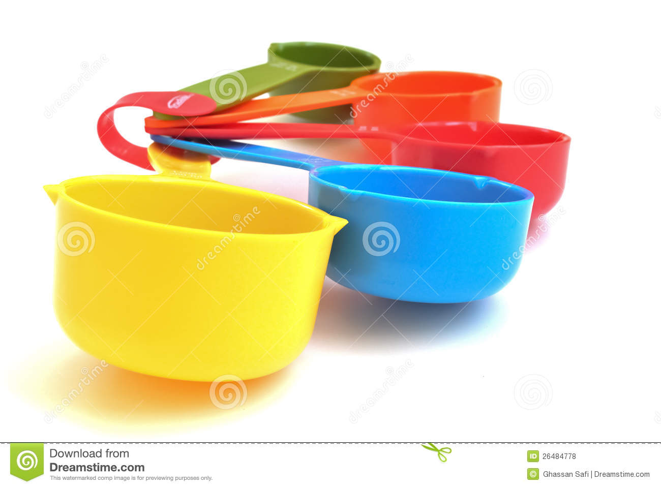 Colorful Measuring Cups Royalty Free Stock Photos - Image ...