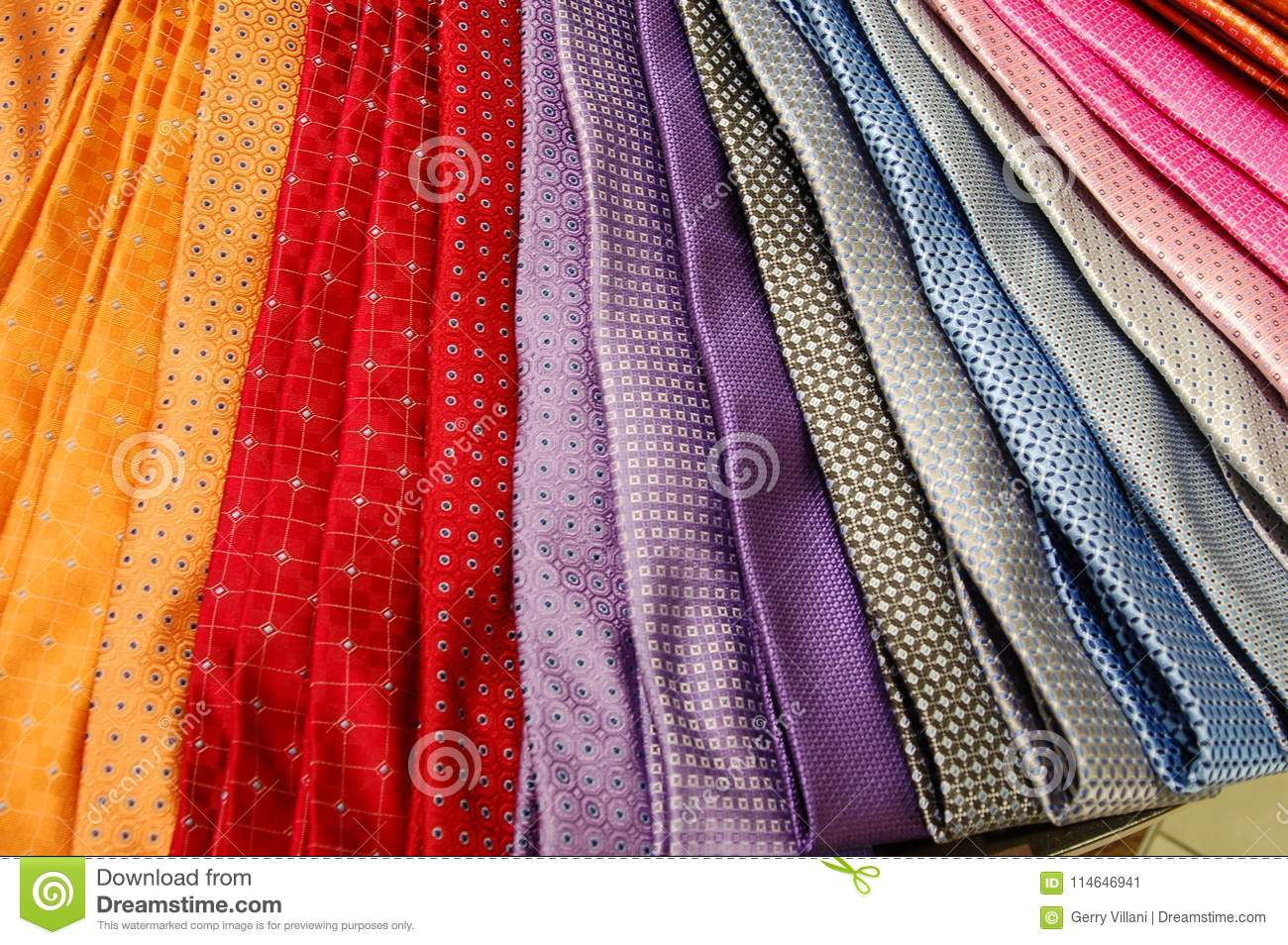 Download Colorful Men`s Ties In A Department Store, Portland, Oregon Stock Image - Image of oregon, shirt: 114646941