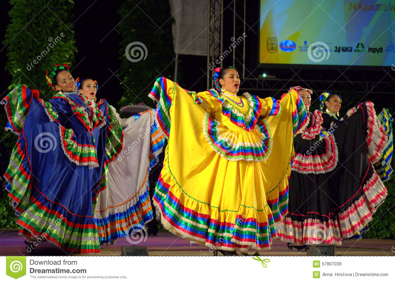 Mexican Dance Dresses