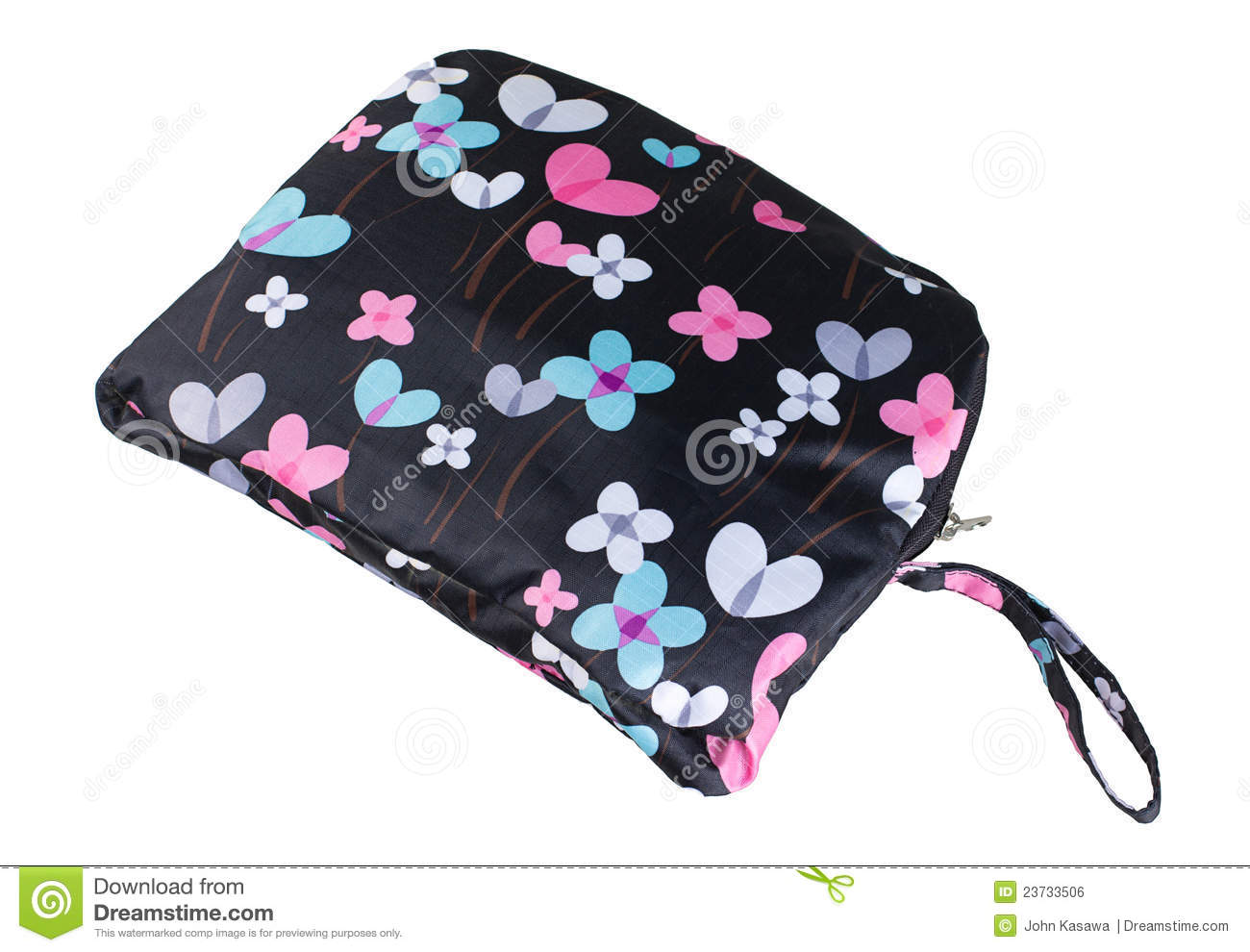 Download Colorful Miscellaneous  Flower Bag Stock Photo - Image of leather, belonging: 23733506