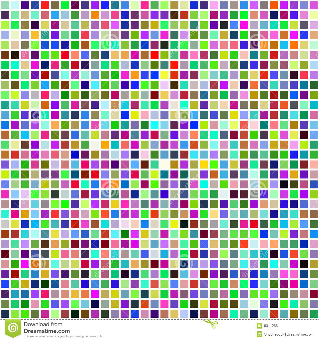 colorful multi color seamless square tiles stock vector