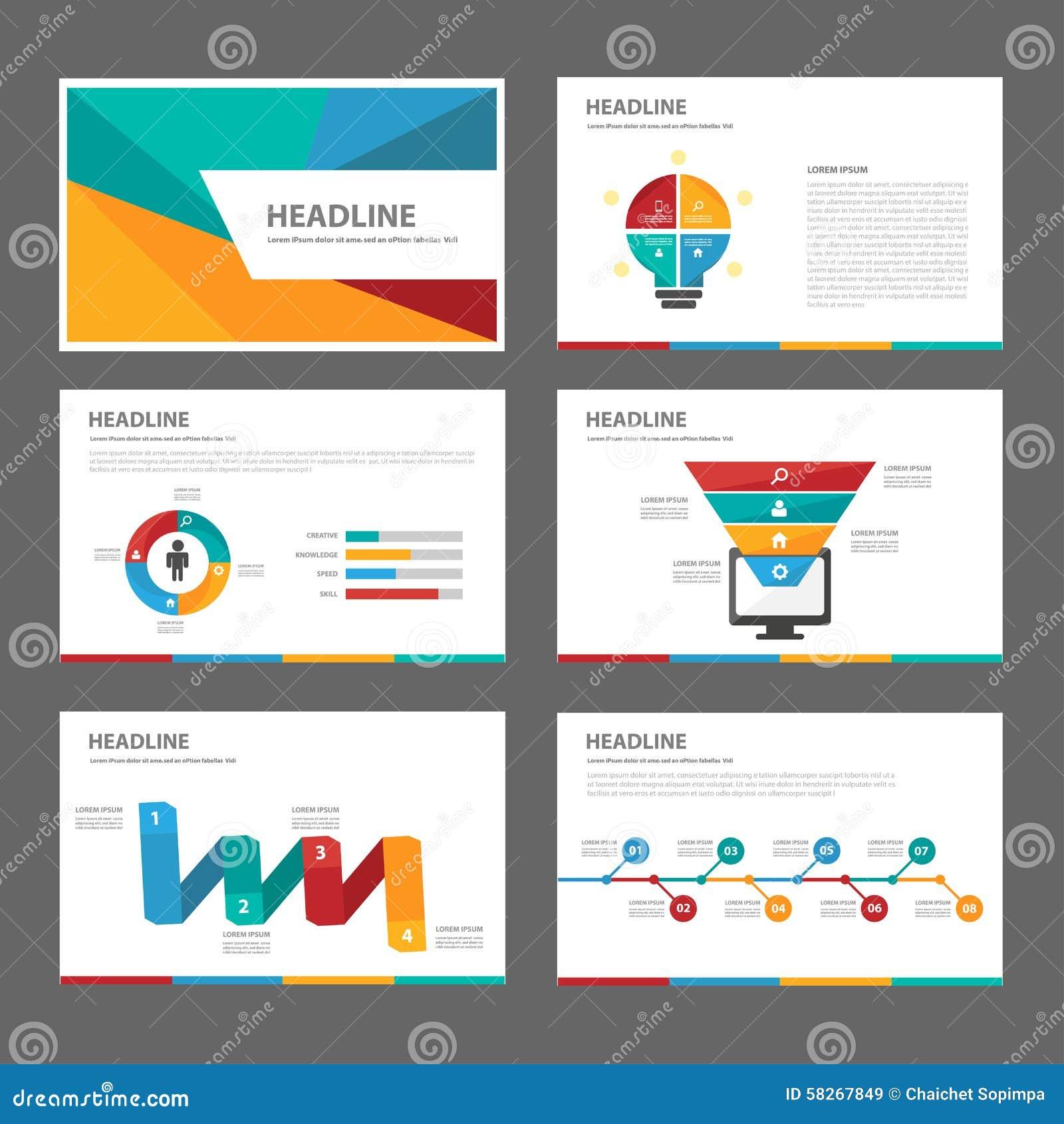 colorful brochure templates - colorful multipurpose brochure flyer leaflet website