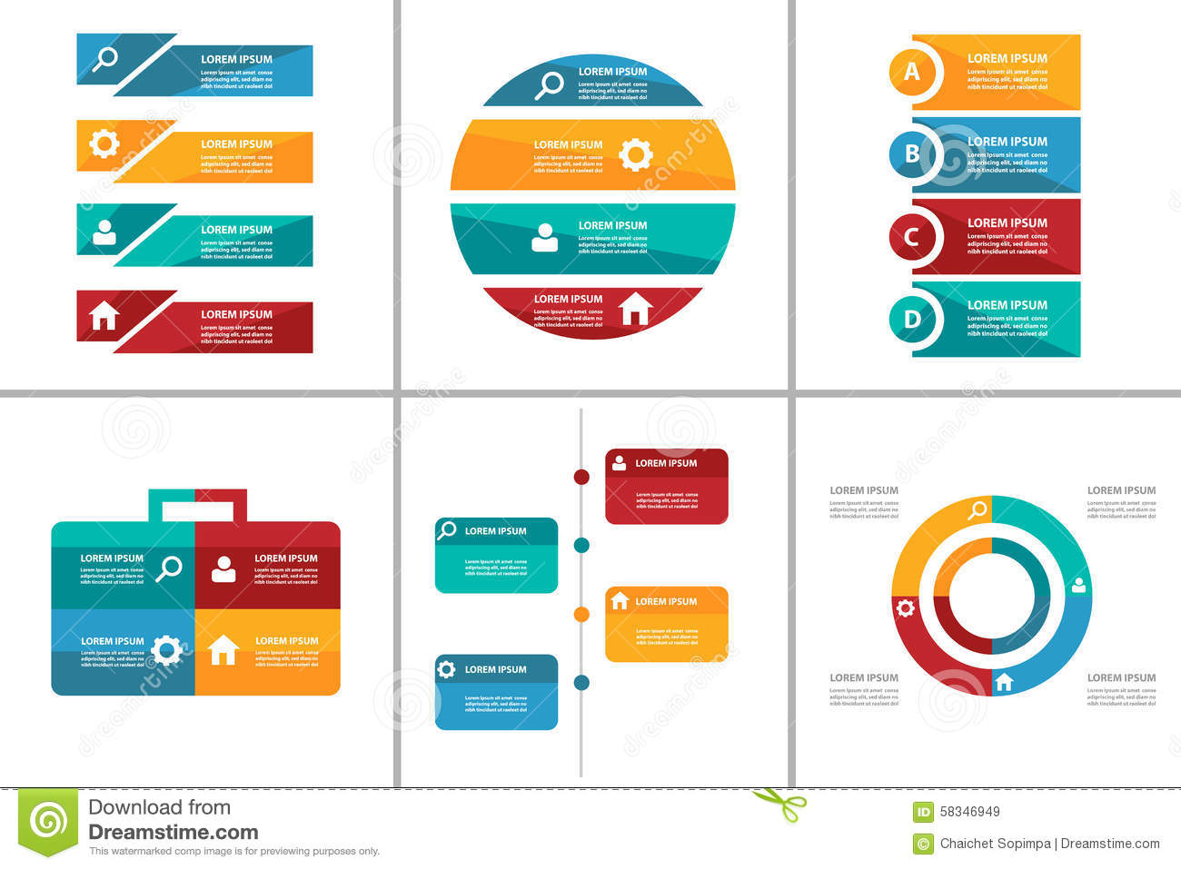 Powerpoint infographics templates free