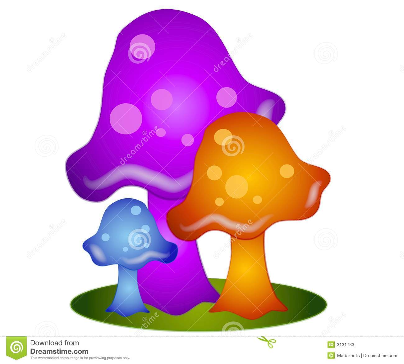 colorful mushrooms clip art 3 stock illustration illustration of rh dreamstime com mushroom clip art free images mushrooms clipart black and white