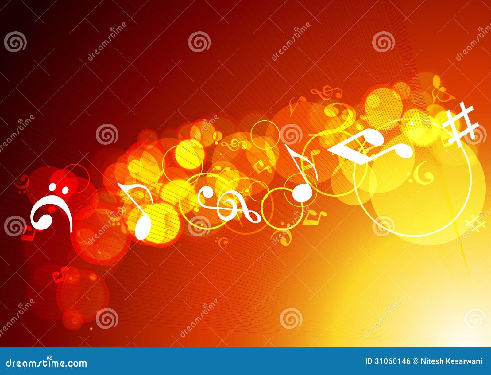 Colorful Music Background. Royalty Free Stock Image - Image: 31060306