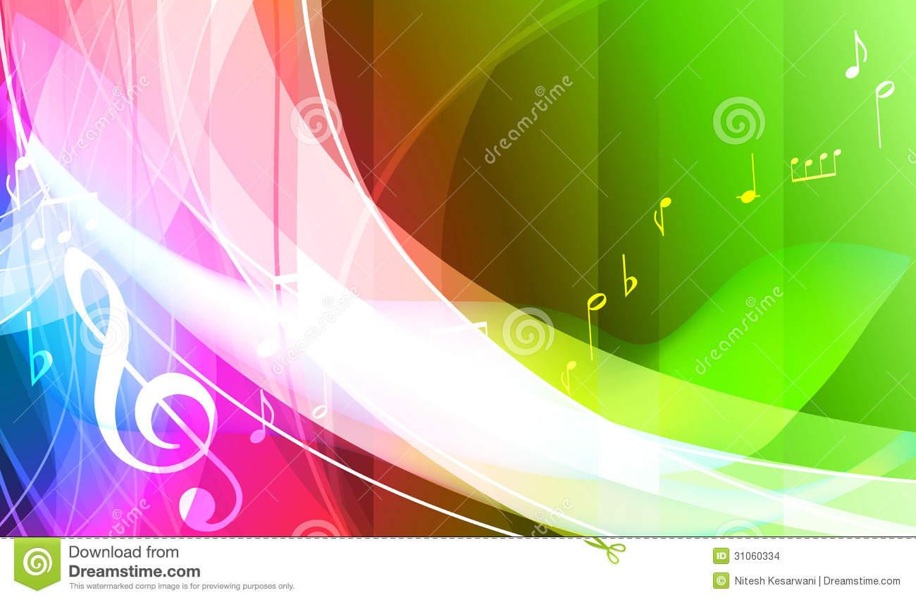 Colorful music background. stock vector. Illustration of ...