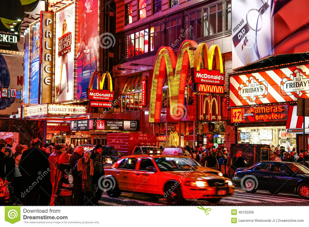 Colorful night life times square new york city editorial for New york new york on the town
