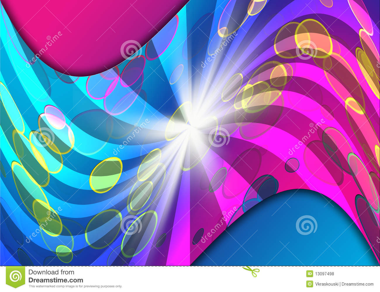 Colorful Night Party Background Royalty Free Stock Photos