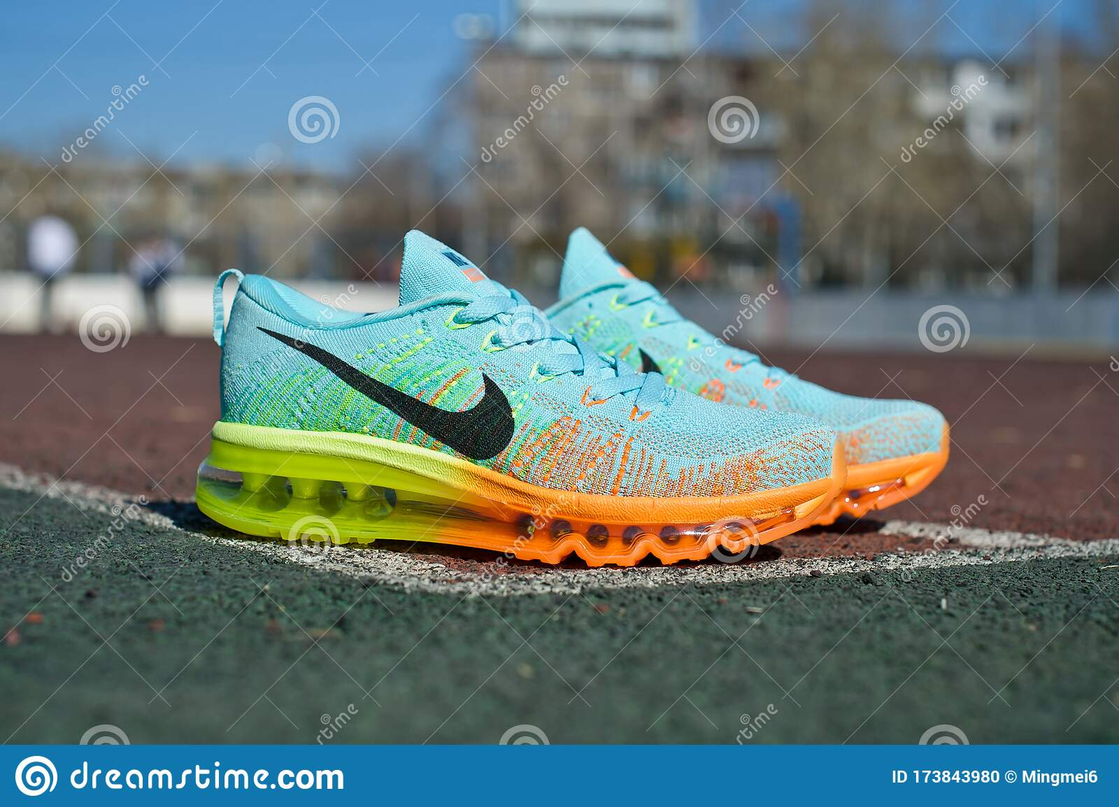 Colorful Nike Flyknit Air Max Running