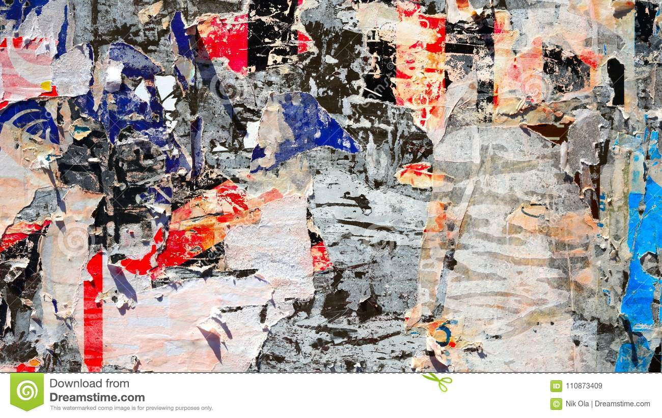 Colorful Old Paper Texture Background Stock Image Image