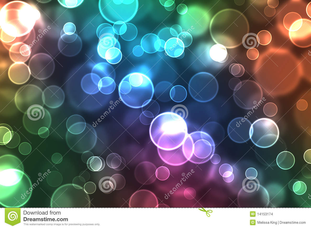 colorful orbs of light stock illustration  image of colorful