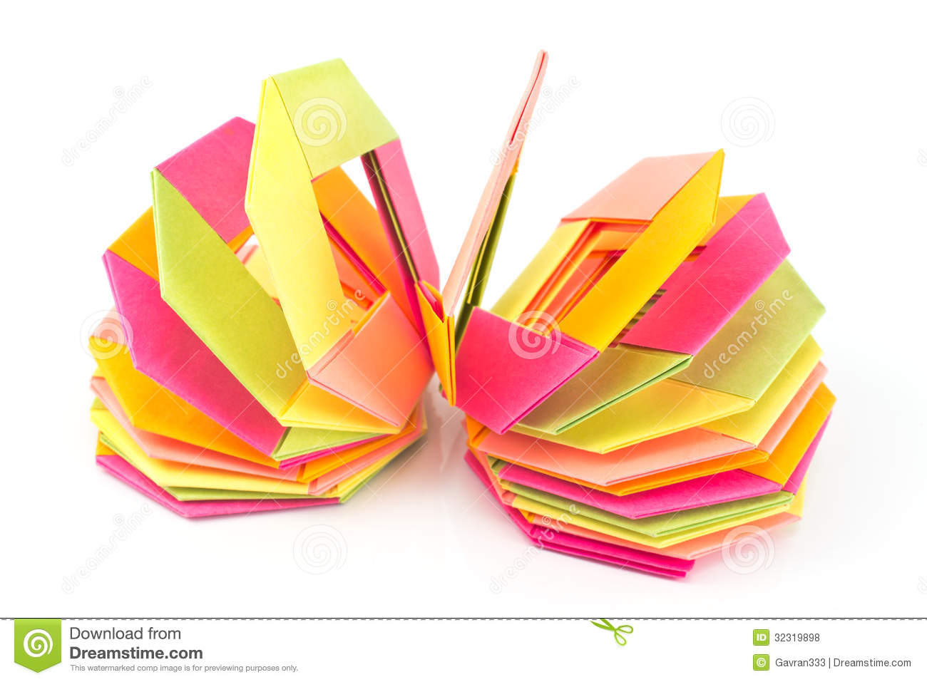 Colorful Origami Paper Octagon Shapes Royalty Free Stock ... - photo#48
