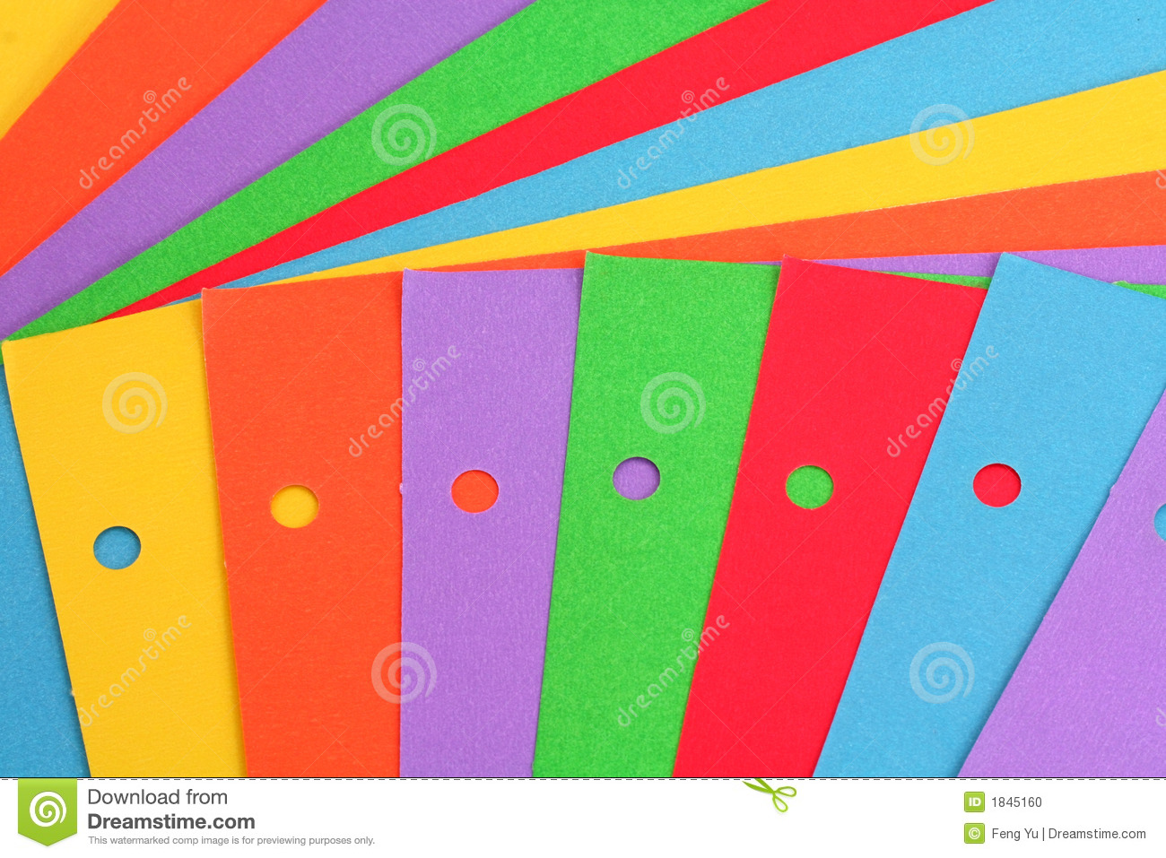 Colorful Paper Stock Photo Image 1845160