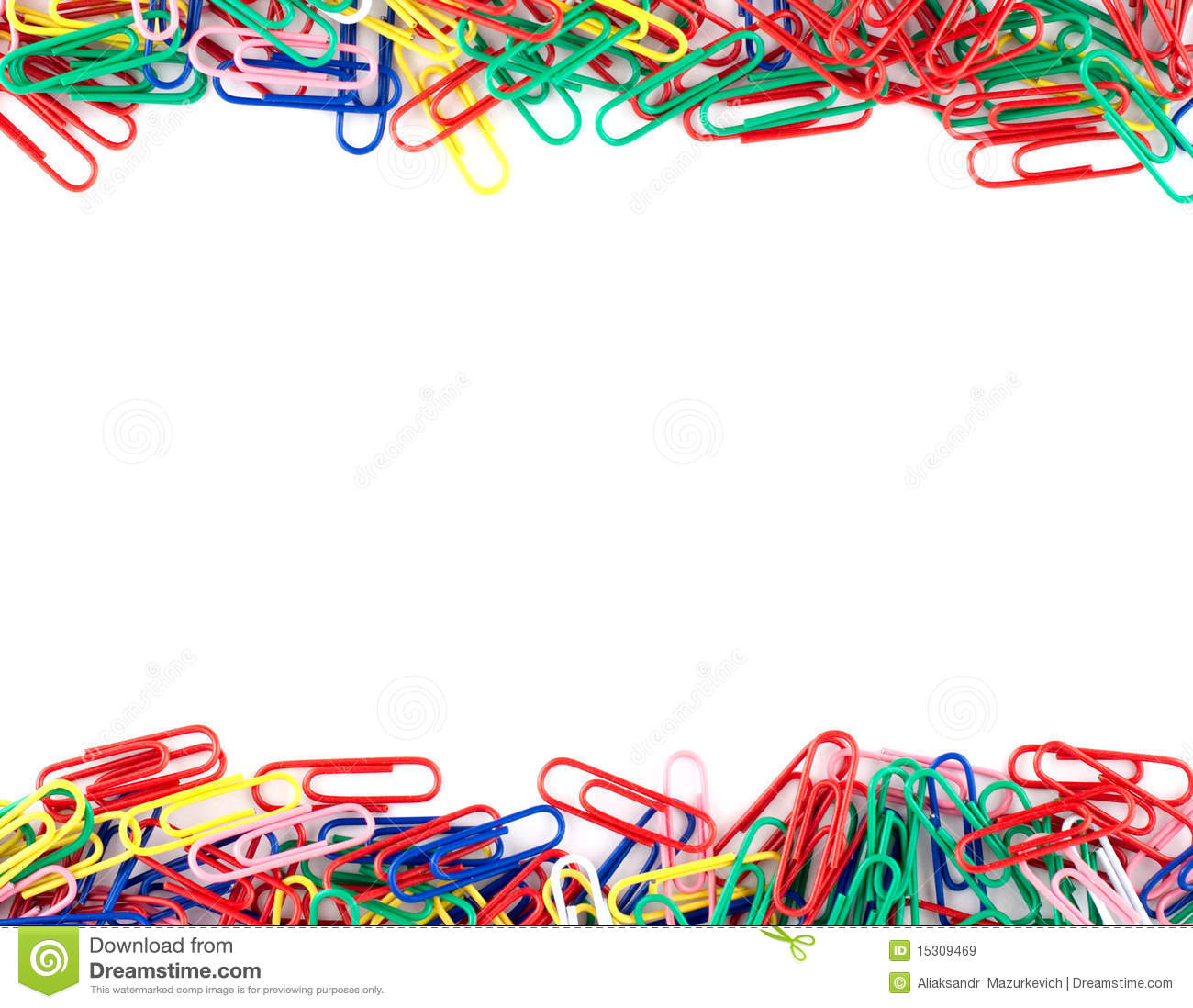 Colorful Paper Clips Royalty Free Stock Images - Image: 15309469: becuo.com/colored-paper-clips