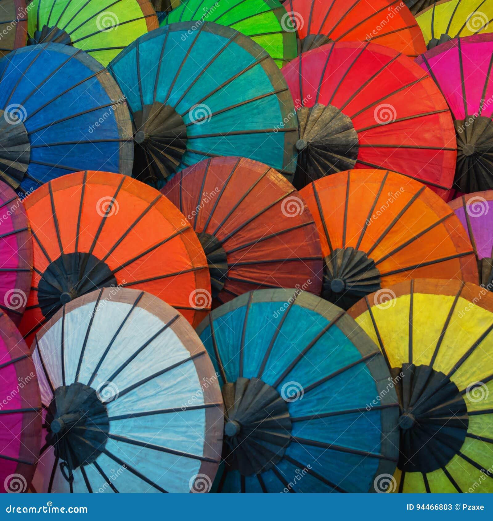 Asiatische Schirme